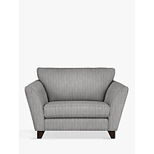 Buy John Lewis Oslo Snuggler, Dark Leg, Porto Blue Grey Online at johnlewis.com