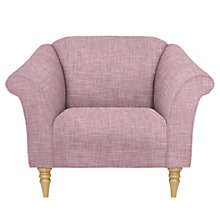 Buy John Lewis Molly Armchair, Light Leg, Parker Rose Online at johnlewis.com