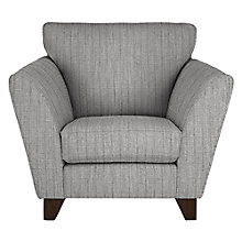 Buy John Lewis Oslo Armchair, Dark Leg, Porto Blue Grey Online at johnlewis.com