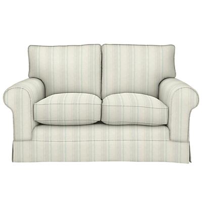 John Lewis Padstow Small 2 Seater Sofa, Parton Stripe Natural/Duck Egg