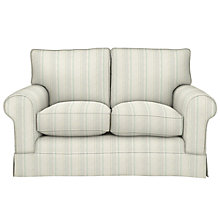 Buy John Lewis Padstow Small 2 Seater Sofa, Parton Stripe Natural/Duck Egg Online at johnlewis.com