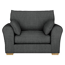 Buy John Lewis Leon Snuggler, Dark Leg, Elena Charcoal Online at johnlewis.com