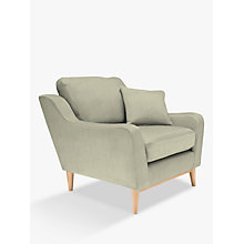 Buy ercol for John Lewis Salento Armchair, Oak Leg, Maria Eau De Nil Online at johnlewis.com