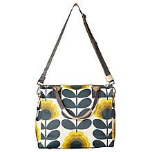 Buy Orla Kiely Summer Flower Canvas Grab Bag, Sunshine Online at johnlewis.com