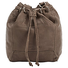 Buy Liebeskind Kandi Leather Bucket Bag, Rhino Brown Online at johnlewis.com