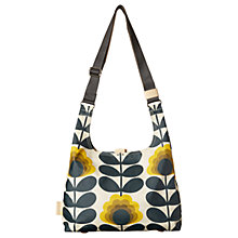 Buy Orla Kiely Smmer Flower Medium Shoulder Bag, Sunshine Online at johnlewis.com