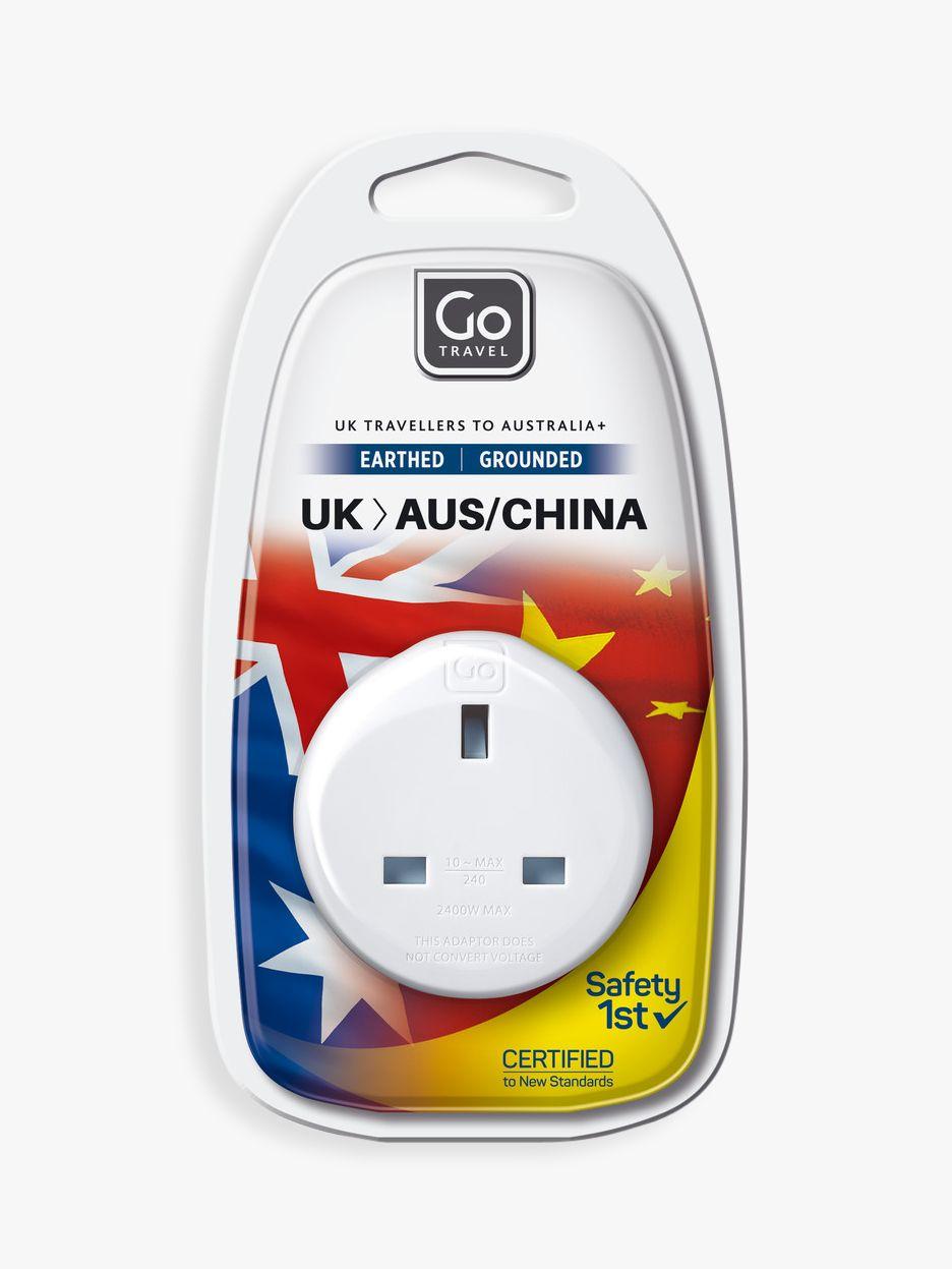 Go Travel Go Travel UK-AUS Adaptor