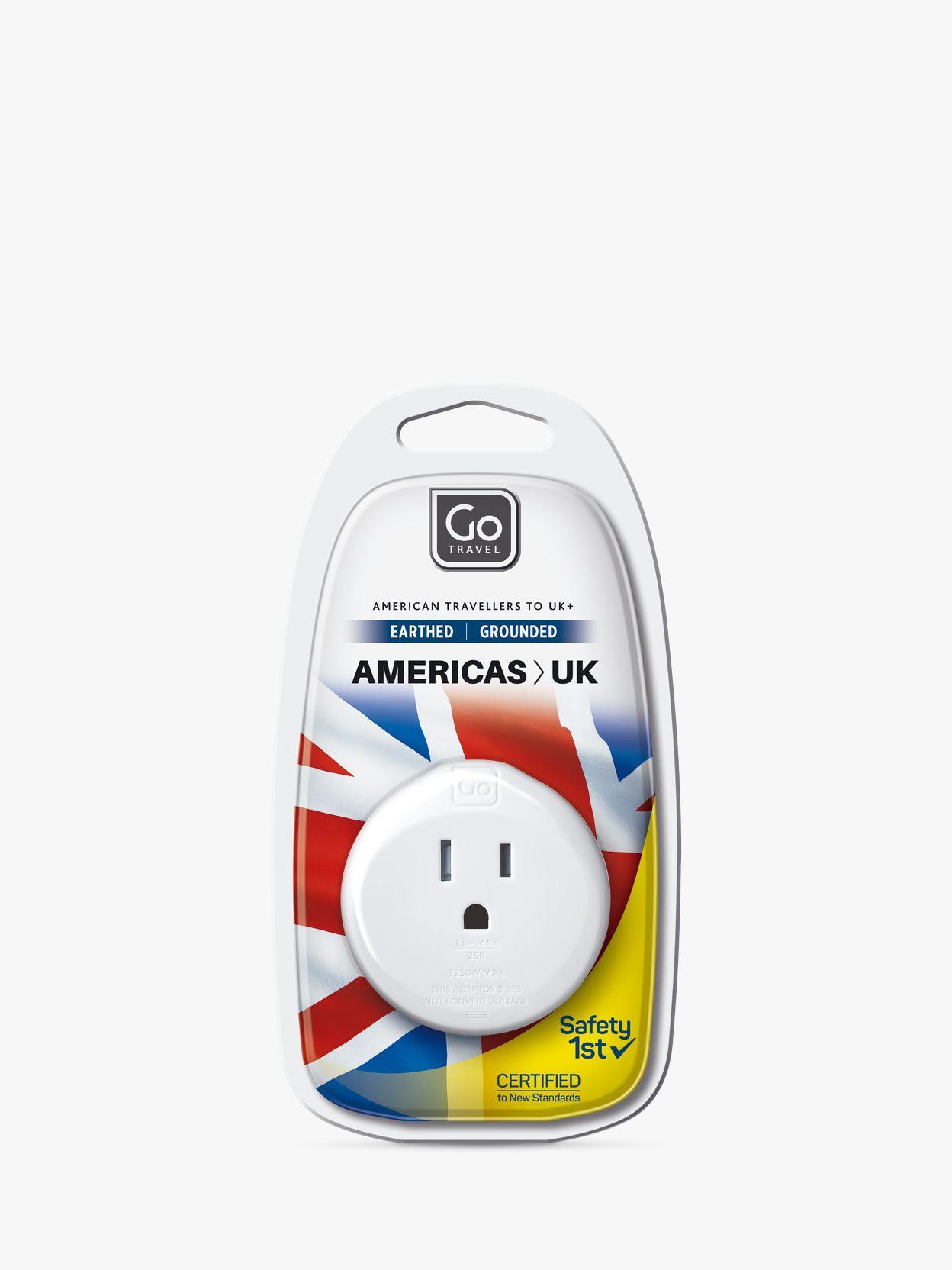 Go Travel Go Travel US-UK Adaptor