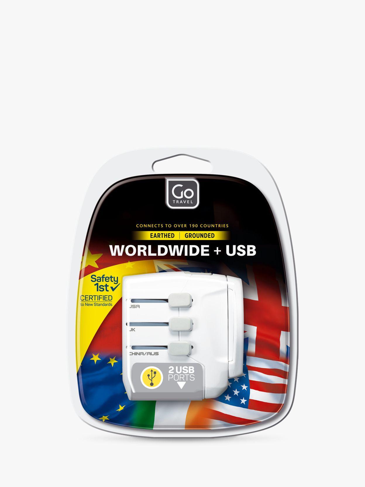Go Travel Go Travel USB UK and USB Travel Adaptor