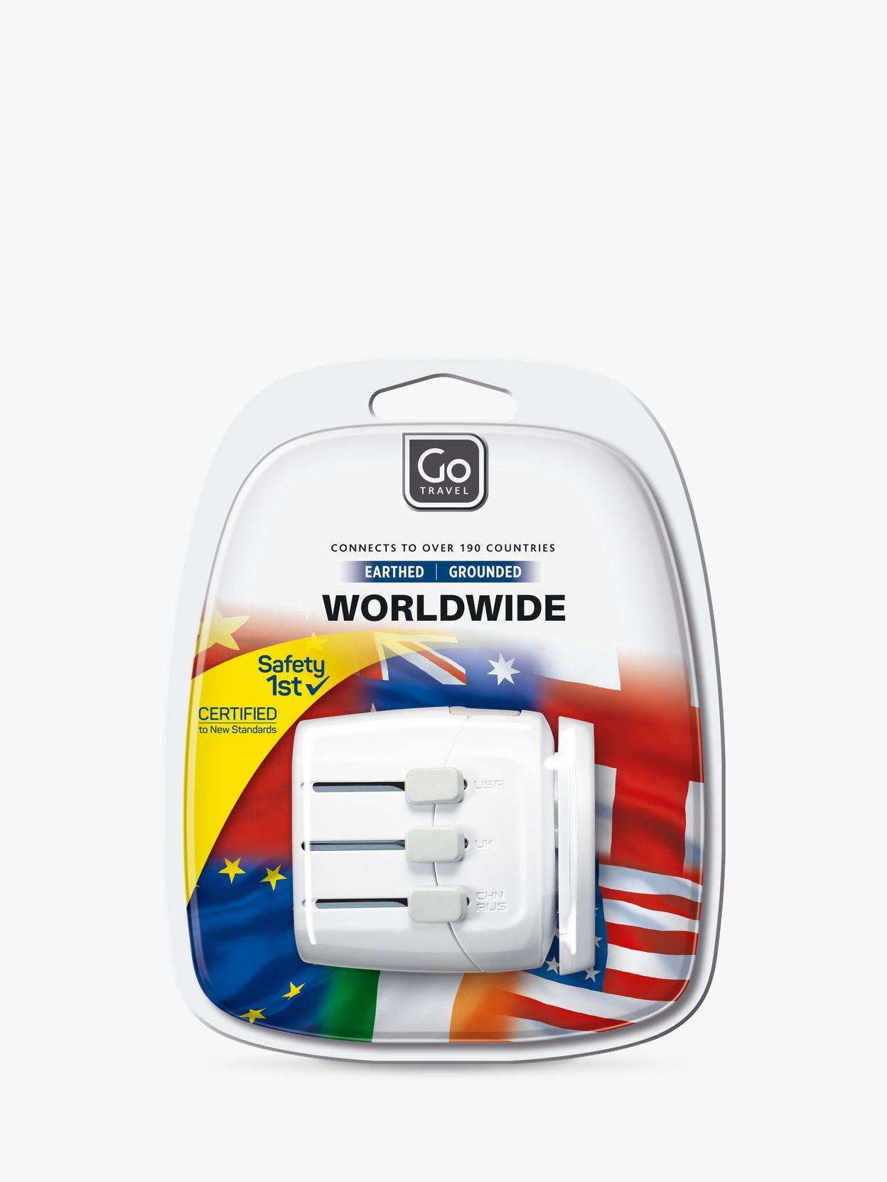 Go Travel Go Travel Worldwide Adaptor for UK Electrical