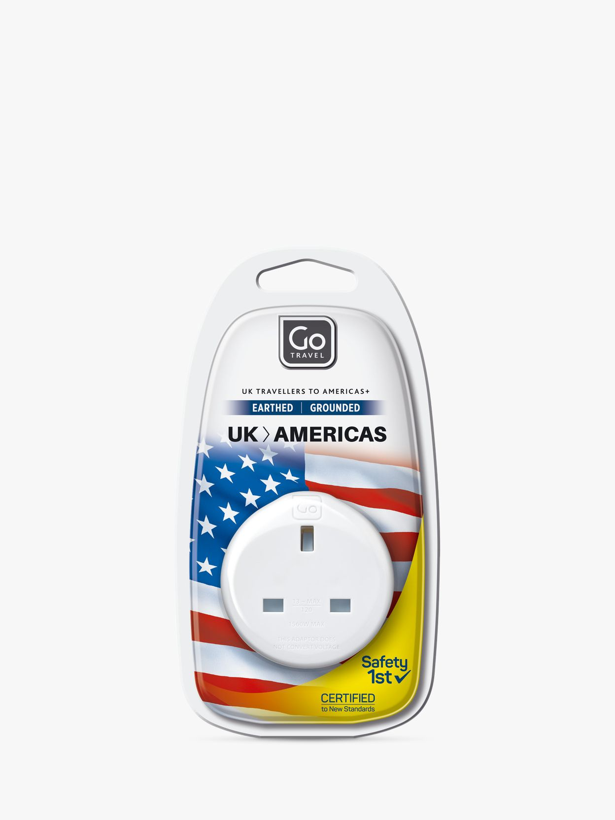 Go Travel Go Travel UK to USA Plug Adaptor