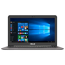 "Buy ASUS ZenBook UX510 Laptop, Intel Core i7, 16GB RAM, 1TB HDD + 256GB SSD, NVIDIA GeForce GTX960M, 15.6"" 4K Screen Online at johnlewis.com"