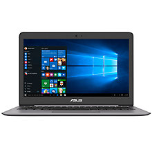 "Buy ASUS ZenBook UX310 Laptop, Intel Core i3, 4GB RAM, 256GB SSD, 13.3"", Grey Online at johnlewis.com"