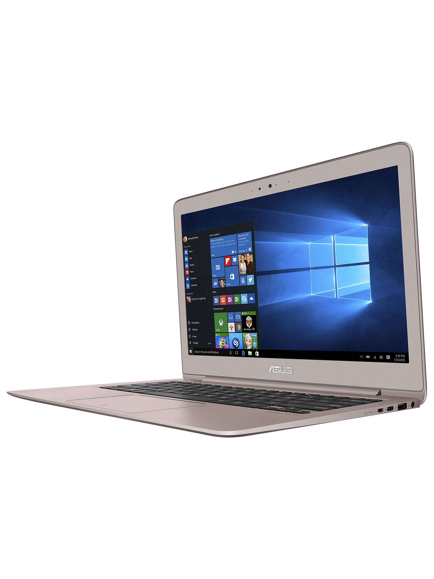 ASUS ZenBook UX330 Laptop, Intel Core i5, 8GB RAM, 256GB SSD