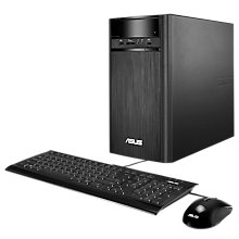 Buy ASUS K31CD-UK063T Tower PC, Intel Core i5, 8GB RAM, 3TB HDD, NVIDIA GT 730, Black Online at johnlewis.com