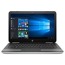 "Buy HP Pavilion 14-al119na Laptop, Intel Core i3, 8GB RAM, 128GB SSD, 14"", Natural Silver Online at johnlewis.com"