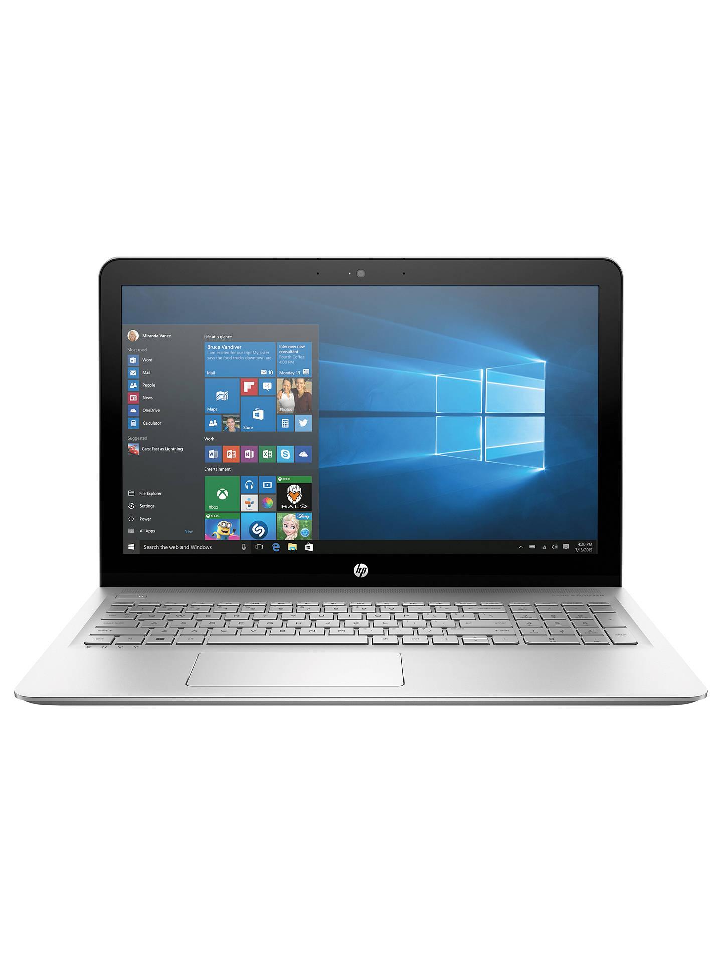 HP ENVY 15-as103na Laptop, Intel Core i7, 8GB RAM, 1TB HDD + 128GB
