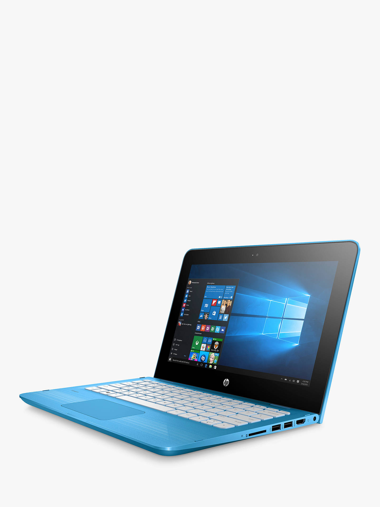 HP Stream x360 11-aa000na Convertible Laptop, Intel Celeron, 2GB RAM, 32GB  eMMC, 1TB OneDrive and Office 365 1 Year Subscription Included, 11 6