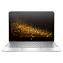 "Buy HP Envy 13-ab008na Laptop, Intel Core i7, 8GB RAM, 512GB SSD, 13.3"" QHD + Touch Screen, Natural Silver Online at johnlewis.com"