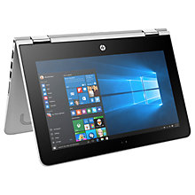 "Buy HP Pavilion x360 11-u006na Convertible Laptop, Intel Pentium, 4GB RAM, 1TB, 11.6"" Touch Screen Online at johnlewis.com"