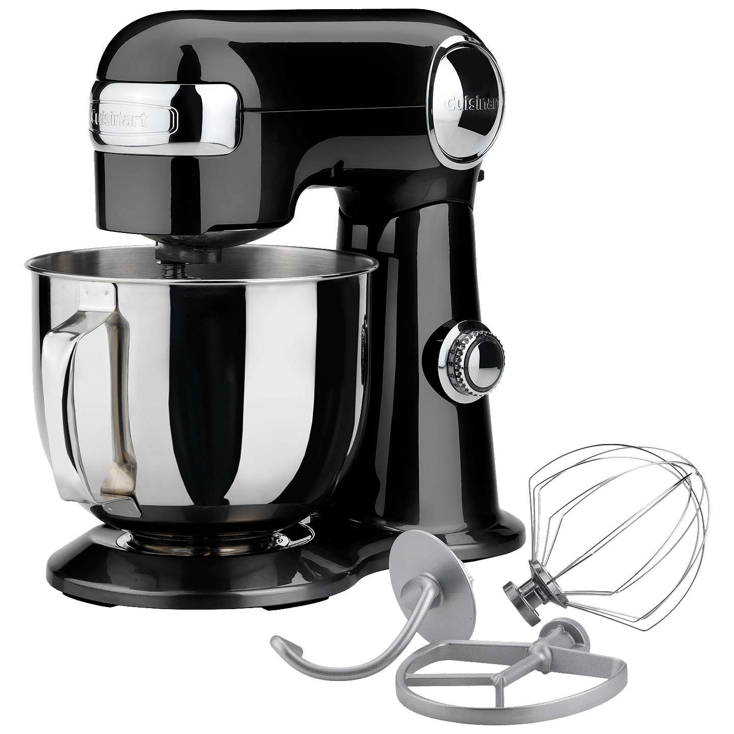 BuyCuisinart SM50BU Precision 5.2L Stand Mixer, Black Online at johnlewis.com