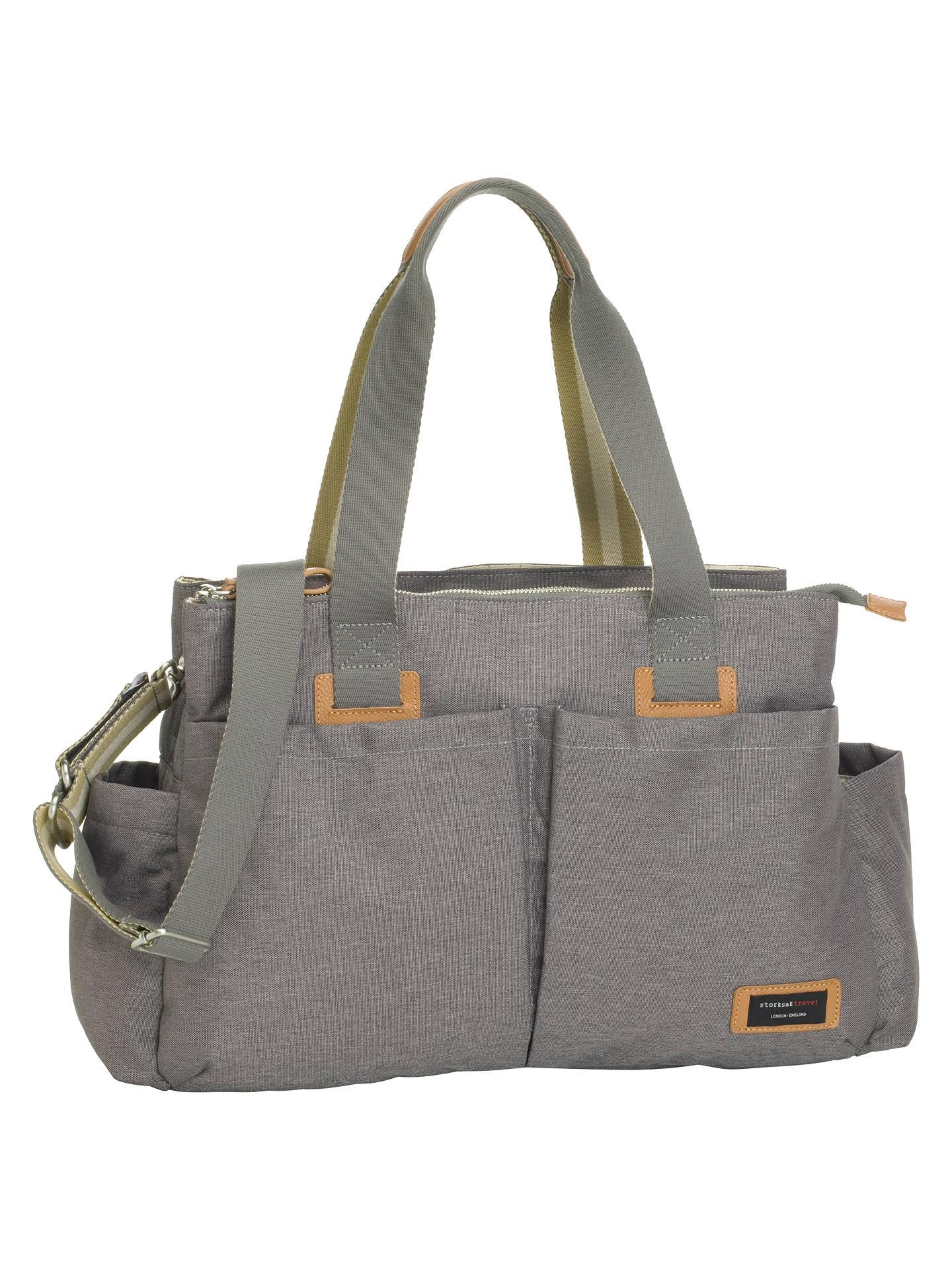 519740dcca Storksak Travel Shoulder Bag at John Lewis   Partners