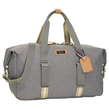 Buy Storksak Travel Duffle Bag, Grey Online at johnlewis.com