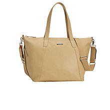 Buy Storksak Noa Leather Changing Bag Online at johnlewis.com