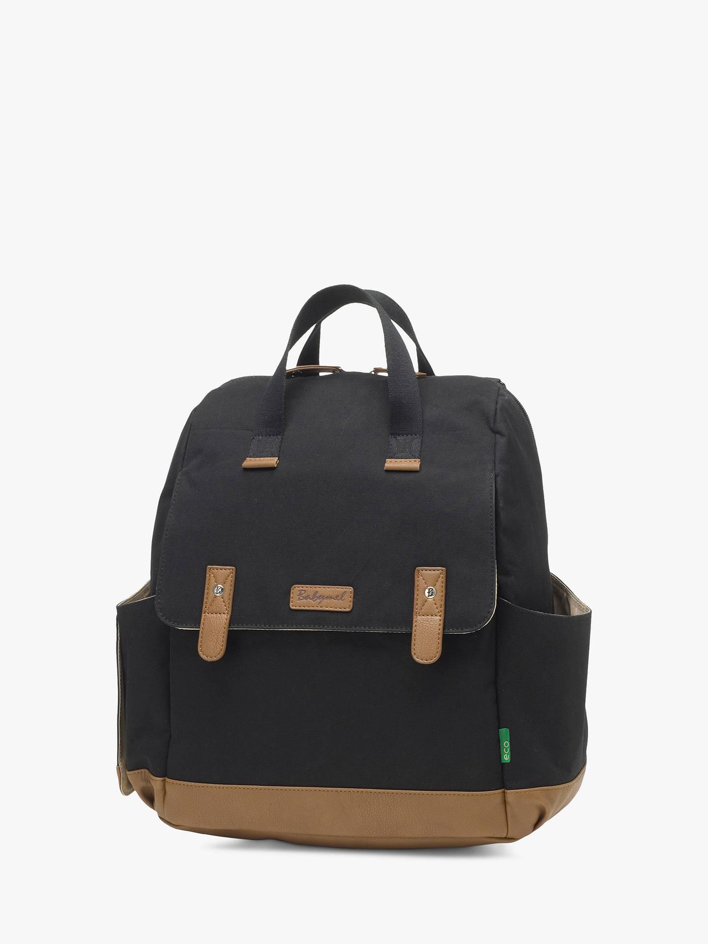 BuyBabymel Robyn Convertible Backpack, Black Online at johnlewis.com ... 6b14e18cea