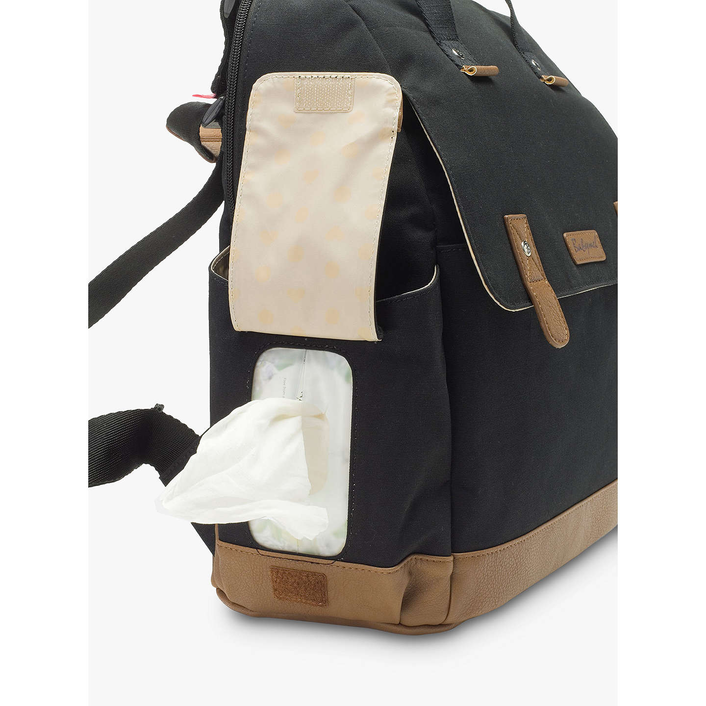 BuyBabymel Robyn Convertible Backpack, Black Online at johnlewis.com