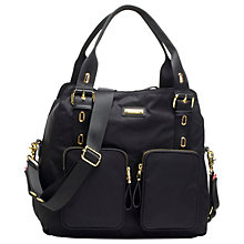 Buy Storksak Alexa Bag, Black Online at johnlewis.com