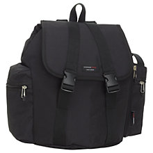 Buy Storksak Travel Backpack Bag, Black Online at johnlewis.com