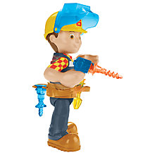 Buy Bob The Builder Switch and Fix Figure with Tools Online at johnlewis.com