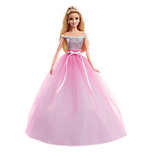 Buy Barbie 2017 Birthday Wishes Doll Online at johnlewis.com