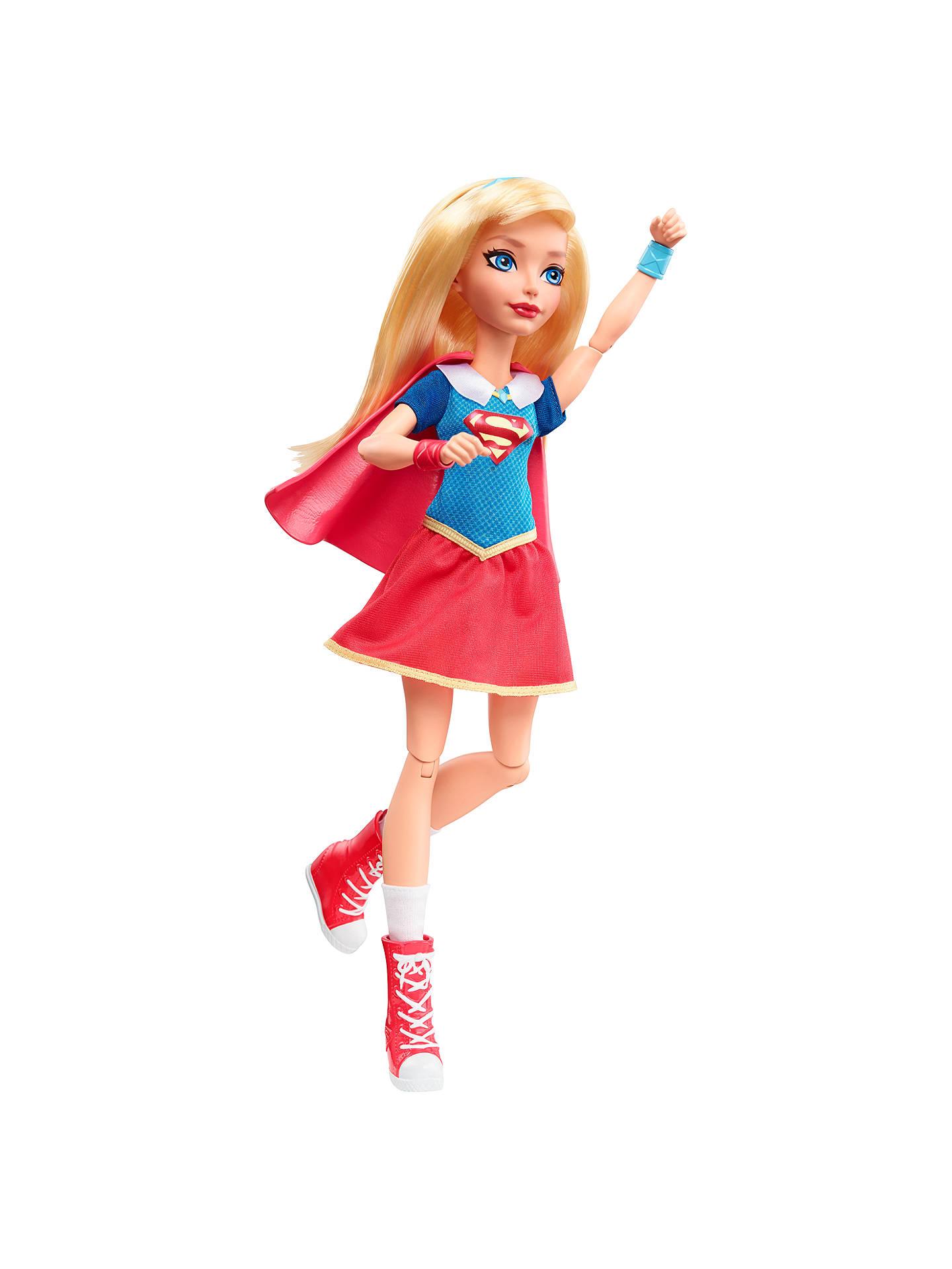 Dc Super Hero Girls Supergirl Action Figure At John Lewis