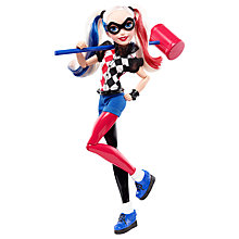 Buy DC Super Hero Girls Harley Quinn Action Figure Online at johnlewis.com