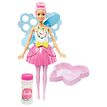 Buy Barbie Dreamtopia Sweetville Kingdom Fairy Doll Online at johnlewis.com