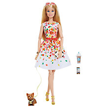 Buy Barbie Look Collectable Day in the Park Flower Dress Doll Online at johnlewis.com