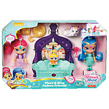 Buy Shimmer and Shine Float & Sing Palace Friends Playset Online at johnlewis.com