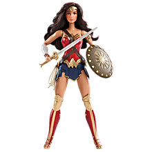 Buy Barbie Wonder Woman Doll Online at johnlewis.com