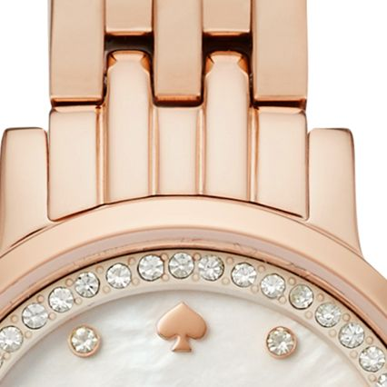 Rose Gold/White Mother of Pearl