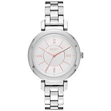 Buy DKNY NY2582 Women's Ellington Bracelet Strap Watch, Silver Online at johnlewis.com