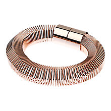 Buy Adele Marie Hexagonal Big Spring Magnetic Clasp Stretch Bracelet Online at johnlewis.com