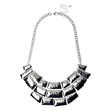 Buy Adele Marie Beaten Effect Collar Necklace Online at johnlewis.com