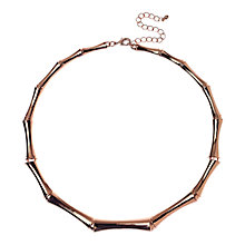 Buy Adele Marie Bamboo Links Collar Necklace Online at johnlewis.com