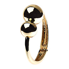 Buy Adele Marie Asymmetric Ball Hinged Bracelet, Gold Online at johnlewis.com