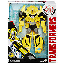 Buy Transformers Robots in Disguise 3 Step Bumble Action Figure Online at johnlewis.com