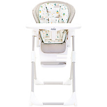 Buy Joie Baby Mimzy LX Highchair, Little World Online at johnlewis.com