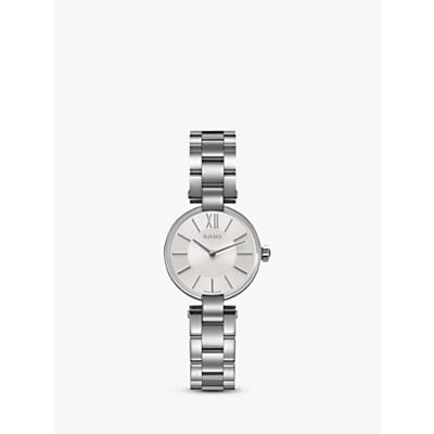 Rado R22854013 Women's Coupole Bracelet Strap Watch, Silver