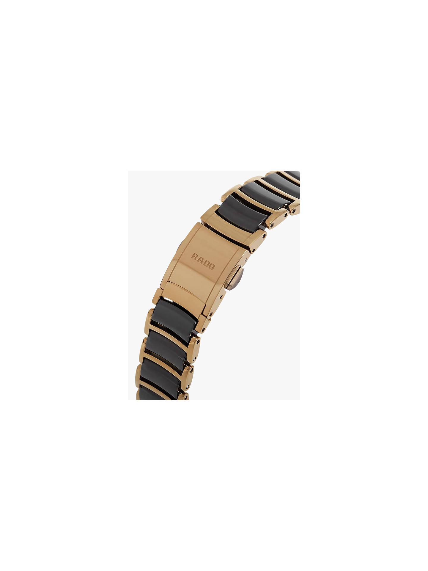 6a69a11c7 ... Buy Rado R30930712 Women's Centrix Jubile Diamond Bi-Material Bracelet  Strap Watch, Gold/